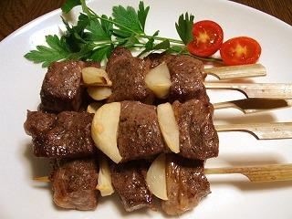 和牛の串焼き