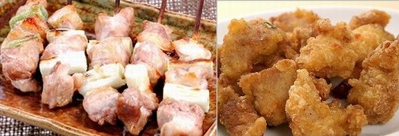 鶏肉を使ったお料理